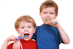 Healthy Eating for Children Includes Brushing